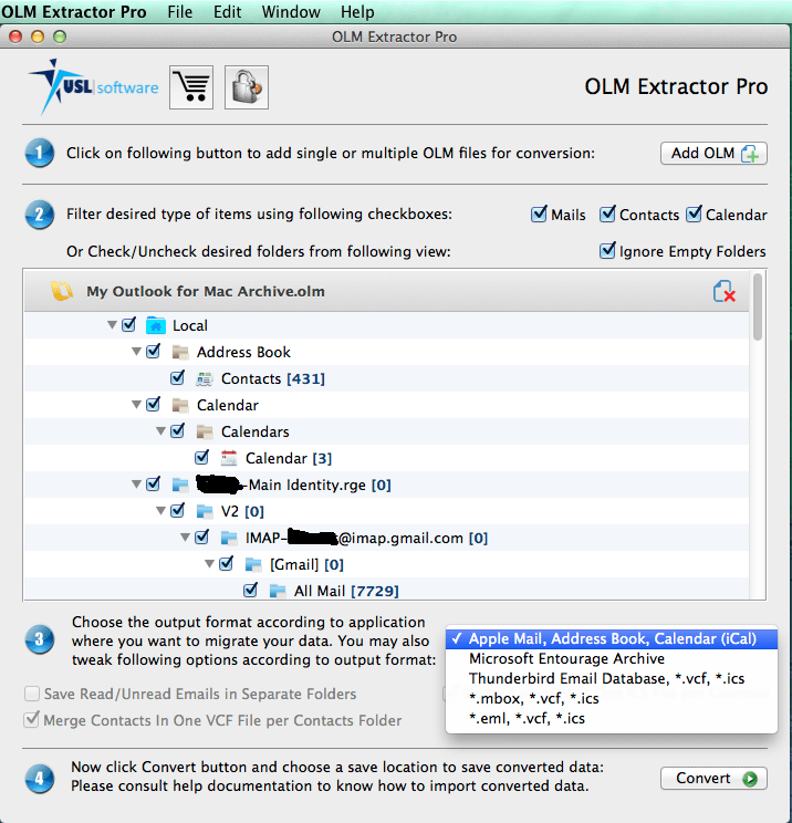 export mac outlook to apple mail