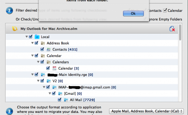 convert outlook 2011 for mac to apple mail