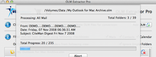 importing olm to apple mail