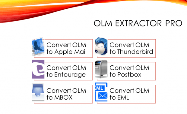 Open OLM file on Mac Mail