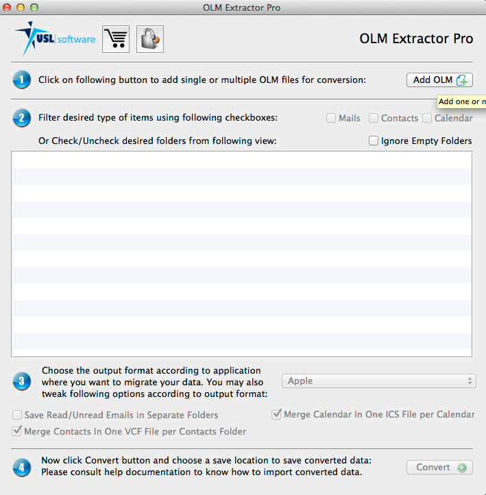 how to convert olm to apple mail