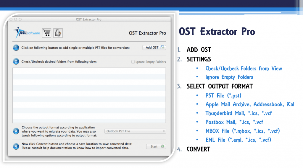 How to import ost file to outlook