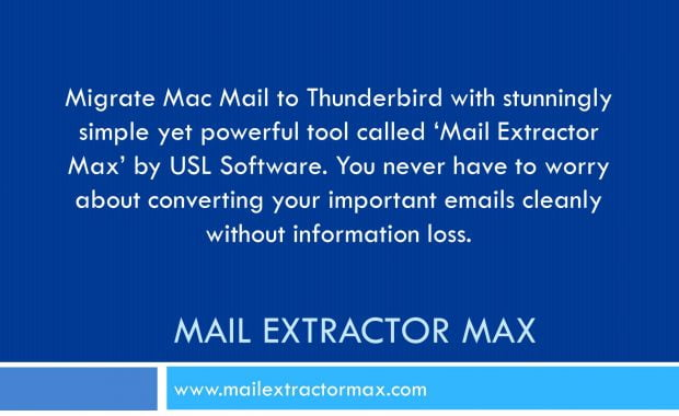 migrate mac mail to thunderbird for mac