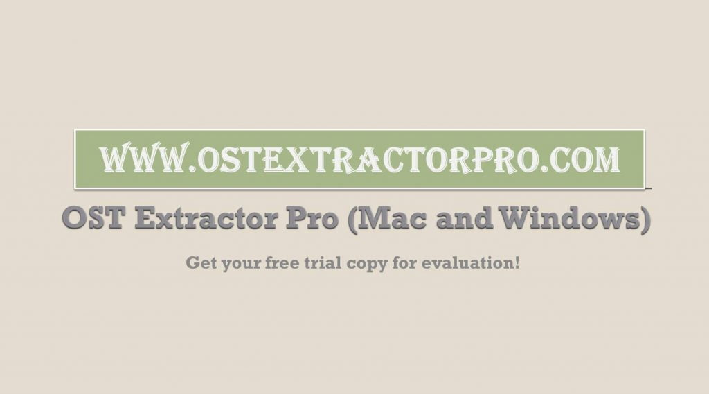 convert ost to mbox free