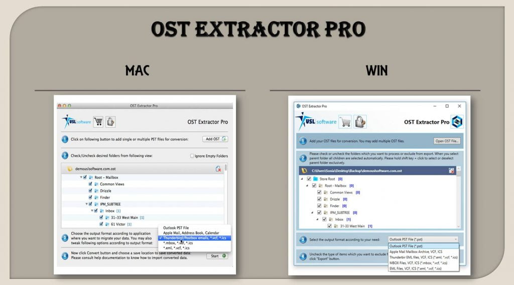 ost to mbox free converter