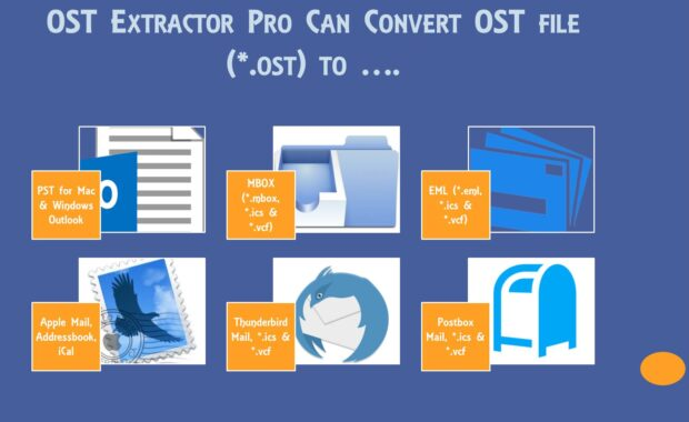 import ost to thunderbird in Mac and Windows